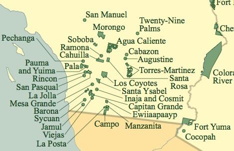 SoCal reservation cluster